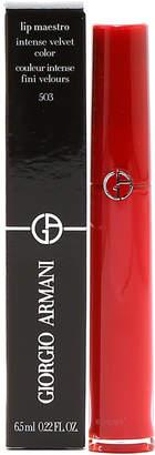 Giorgio Armani Lip Maestro Intense Velvet Lip Gloss #503 Code