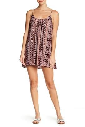 Show Me Your Mumu Trapeze Patterned Mini Dress