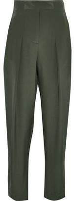 3.1 Phillip Lim Pleated Silk-satin Tapered Pants