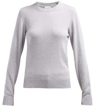 Barrie Arran Pop Cashmere Sweater - Womens - Light Grey