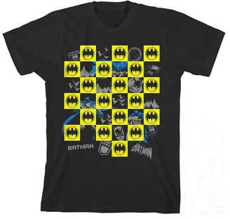Novelty T-Shirts Short Sleeve Crew Neck Batman T-Shirt Boys