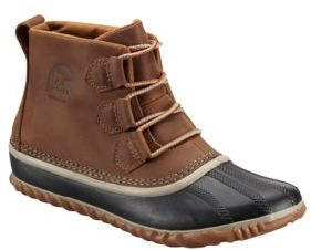 Sorel Out N' About Leather Duck Boots $115 thestylecure.com