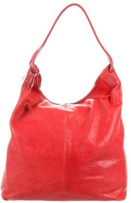 Theory Leather Hobo Bag