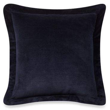 Cozy Velvet Euro Sham in Navy