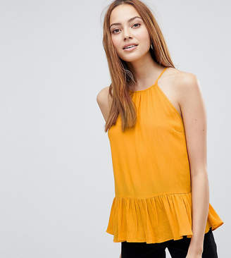 Asos Tall DESIGN TALL Crinkle Trapeze Top