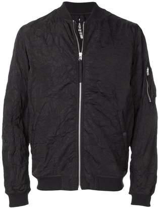MHI creased bomber jacket