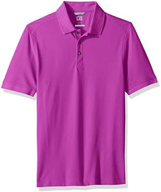 Cutter & Buck Men's 35+ UPF Short Sleeve Lightweight Cotton Advantage Polo Shirt