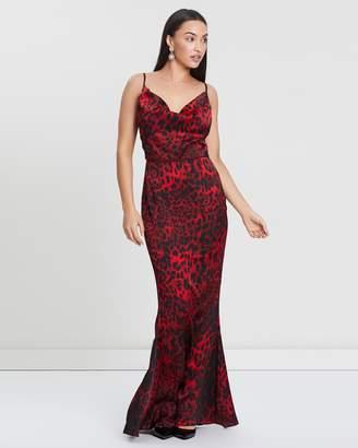 Missguided Leopard Print Maxi Dress