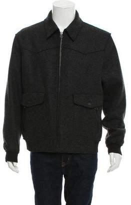 Lanvin Wool Bomber Jacket