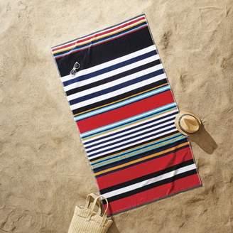 Better Homes & Gardens Better Homes and Gardens Anchor Stripe Sculpted Oversized Beach Towel