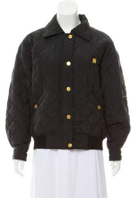Sonia Rykiel Quilted Bomber Jacket