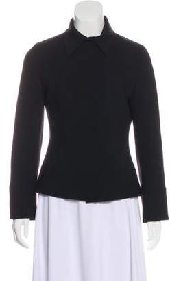 Dolce & Gabbana Wool Snap Jacket