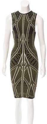Torn By Ronny Kobo Sleeveless Bodycon Mini Dress