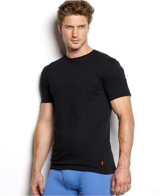 Polo Ralph Lauren Mens Big & Tall 2-Pack Classic Cotton Crew Undershirt
