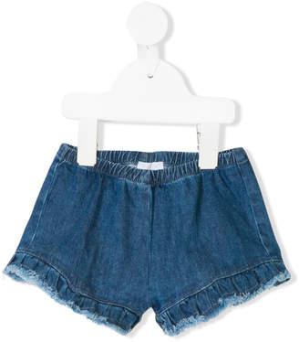 Il Gufo frill trim shorts