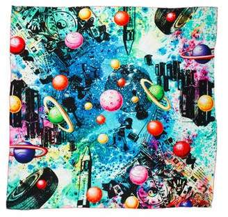 Louis Vuitton Kenny Scharf Cosmic Pop Giant Silk Square