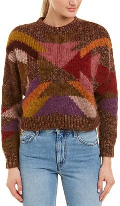 Isabel Marant Wool & Mohair-Blend Sweater