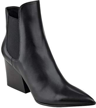 Kendall + Kylie Finley Pointed Toe Block Heel Booties $185 thestylecure.com
