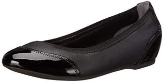 Rockport Women's Total Motion Crescent Ballet Black Pearl (C)