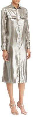 Ralph Lauren Metallic Shirtdress