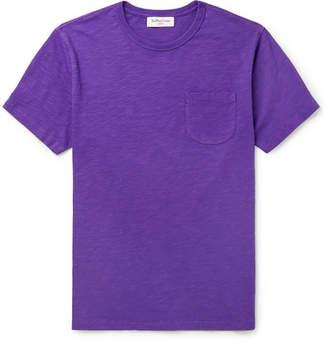 YMC Slim-Fit Slub Cotton-Jersey T-Shirt - Men - Purple
