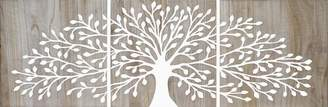 Soundslike HOME Tree Of Life Wood Panels White