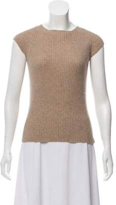 Calvin Klein Collection Rib Knit Cashmere Sweater
