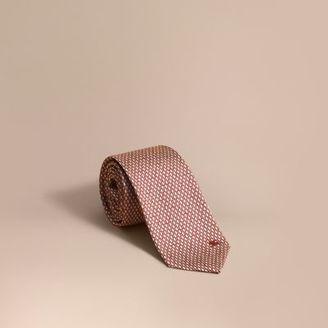 Burberry Modern Cut Silk Jacquard Tie $195 thestylecure.com