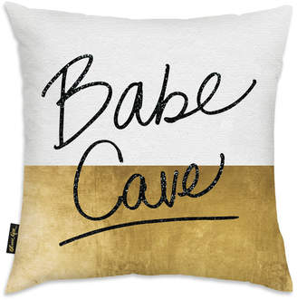 Oliver Gal Babe Cave Decorative Pillow By By The Artist Co.
