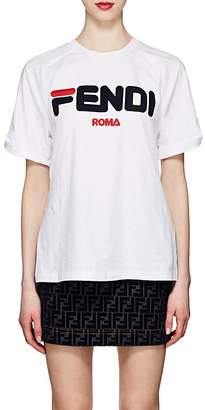 "Fendi Women's Mania"" Cotton T-Shirt"