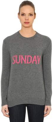 Alberta Ferretti Over Sunday Wool & Cashmere Sweater