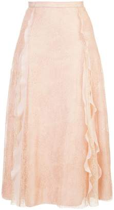 RED Valentino lace layer skirt