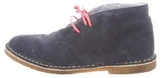 Sophia Webster Shearling-Lined Desert Boots