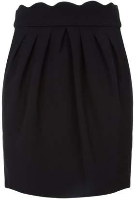 Claudie Pierlot Sylvia Scalloped Skirt