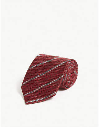 Pal Zileri Regimental silk tie