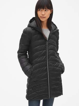Gap ColdControl Lightweight Hooded Puffer Coat