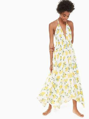 Kate Spade Halter maxi dress cover-up
