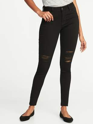 Old Navy Mid-Rise Raw-Edge Rockstar Ankle Jeans for Women