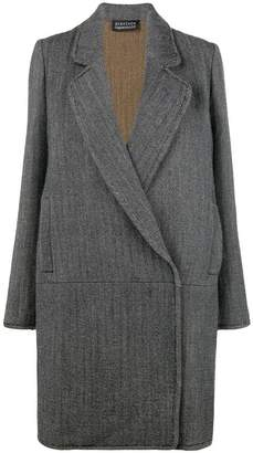 Gianluca Capannolo pattern single breasted coat