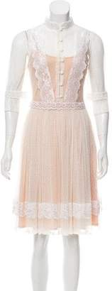 ALICE by Temperley Lace Knee-Length Dress