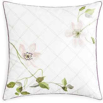 Yves Delorme Clematis Decorative Pillow, 18 x 18