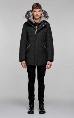 Mackage EDWARD-X hip length down winter parka with fur