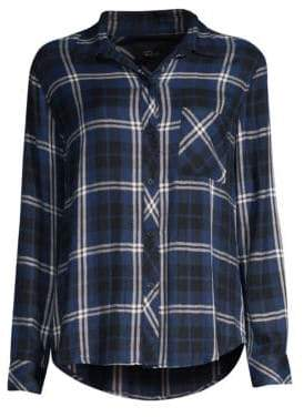 Rails Hunter Button-Down Plaid Shirt
