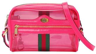 a86656feb Gucci Ophidia mini transparent bag