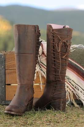 Miss Macie Boots All Tied-Up Boot