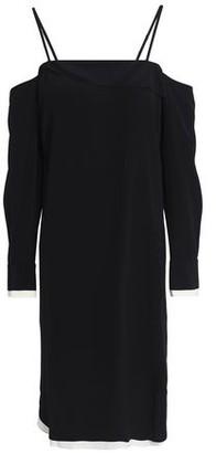 Rag & Bone Cold-Shoulder Crepe Dress