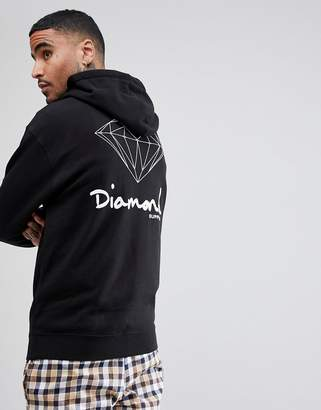 Diamond Supply Co. Hoodie With Back Print