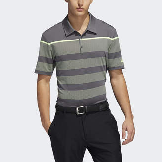 adidas Ultimate365 Dash Stripe Polo Shirt