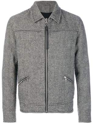 Lanvin lightweight dogtooth jacket