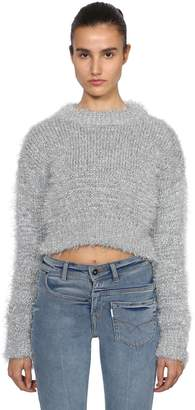 Filles a papa Tinsel Cropped Knit Sweater